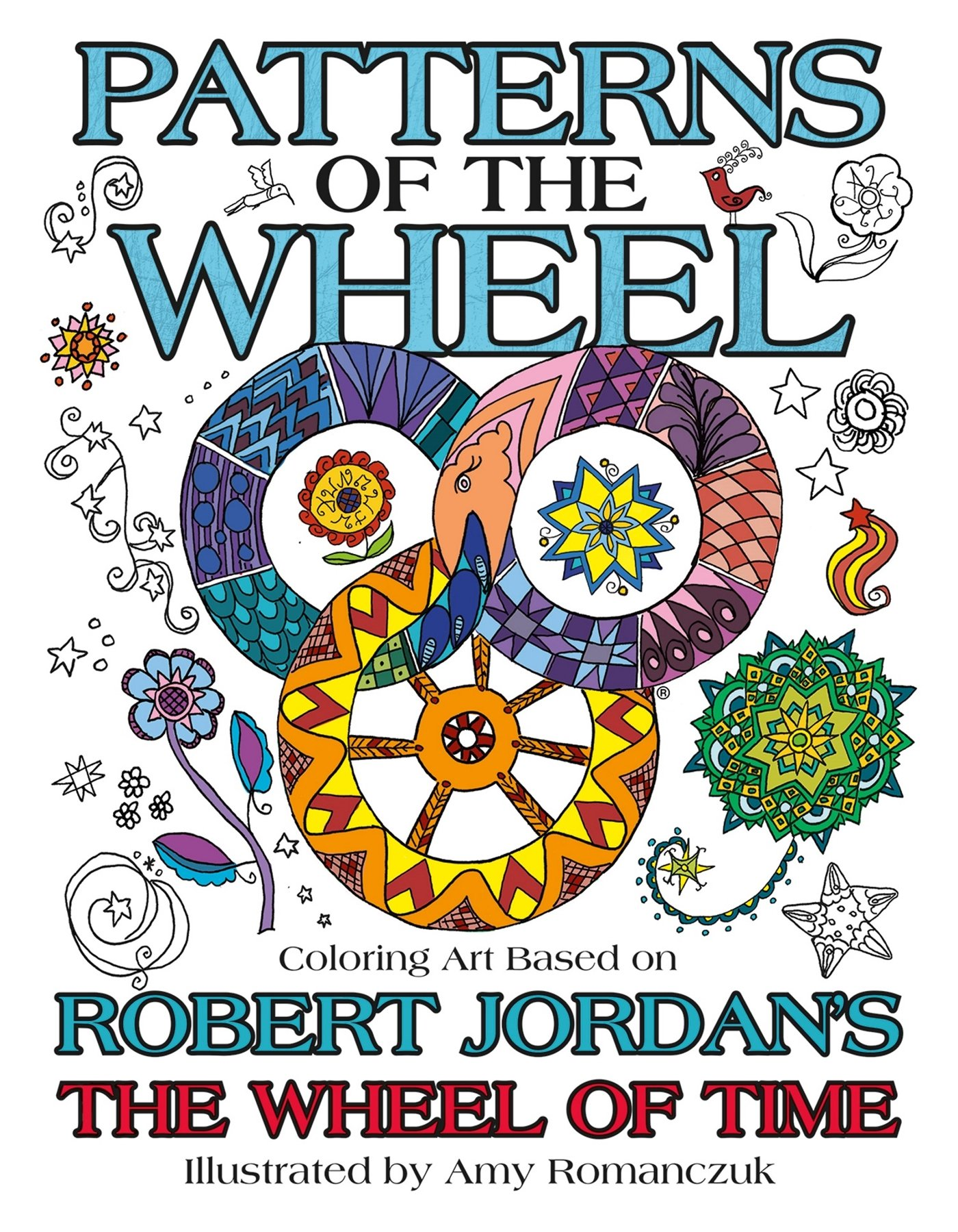 Patterns of the Wheel: Coloring Art Based on Robert Jordan's The Wheel of Time