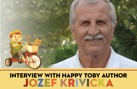 Interview with children's book author Jozef Krivicka