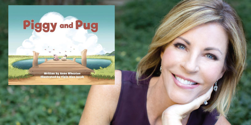 Interview with Anne Wheaton, author of Piggy and Pug