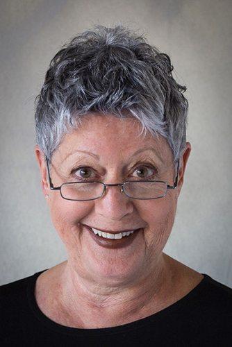 Author Ellen Kirschman at Redwood City Library