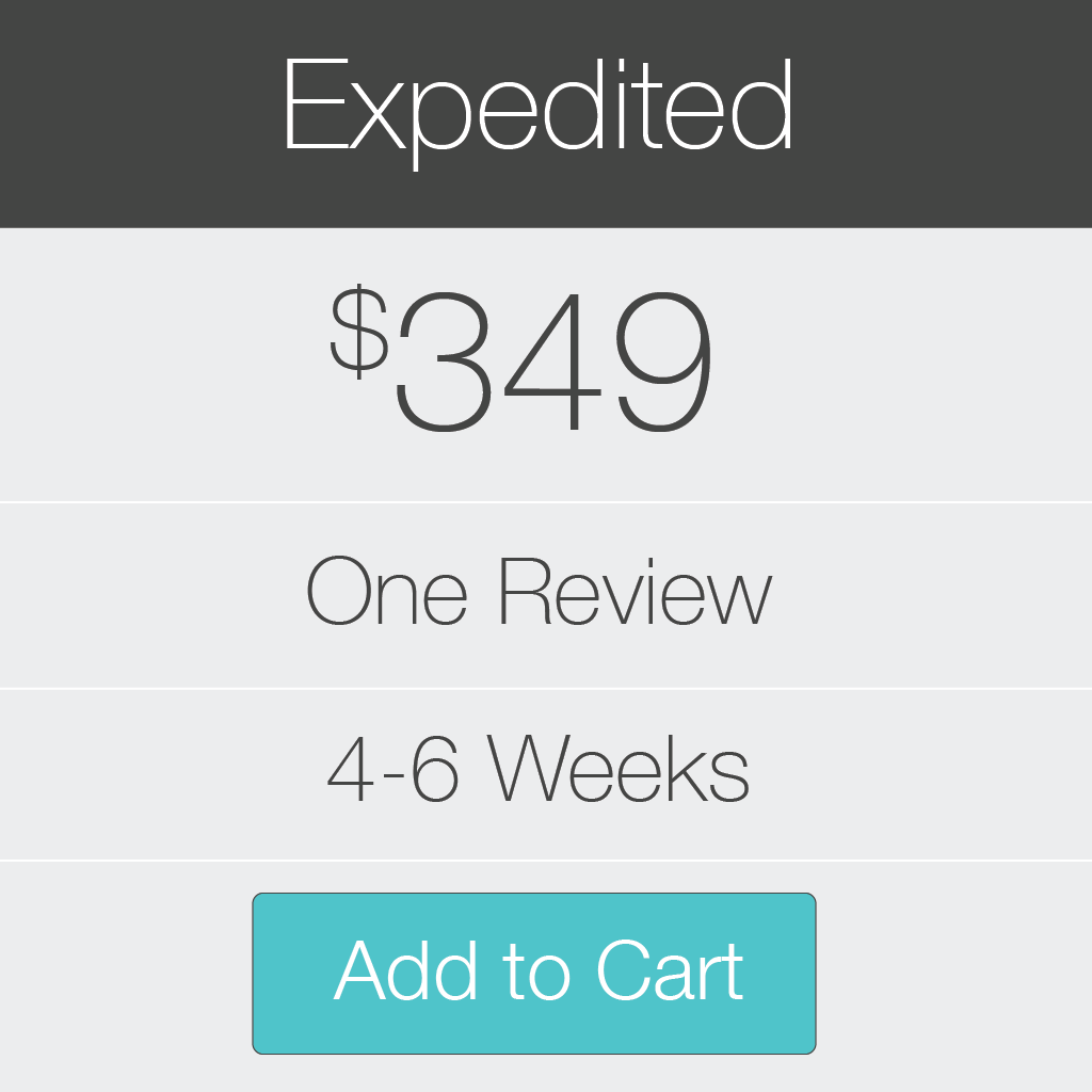 Expedited Review from San Francisco Book Review