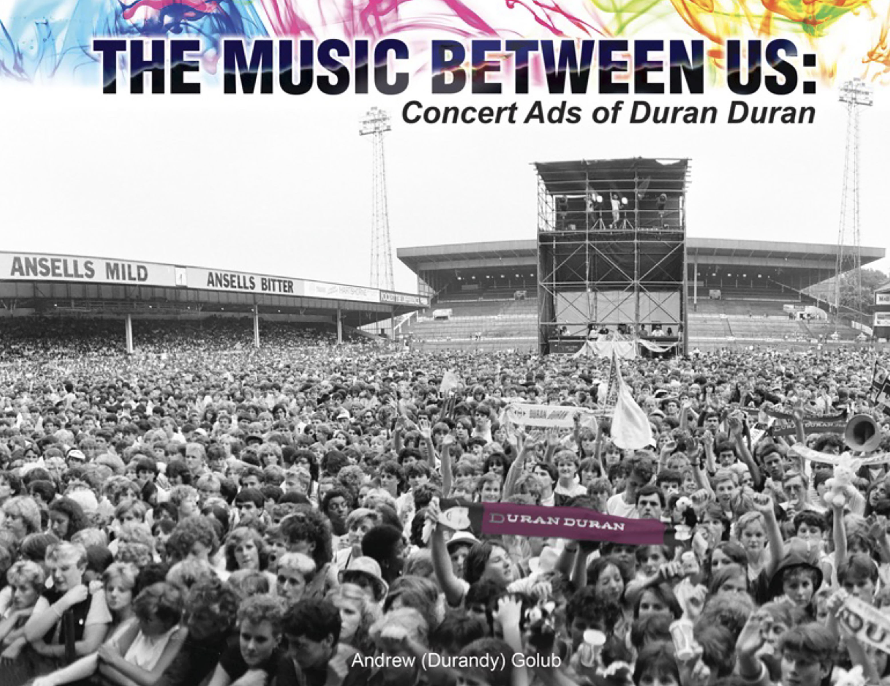 The Music Between Us: Concert Ads of Duran Duran
