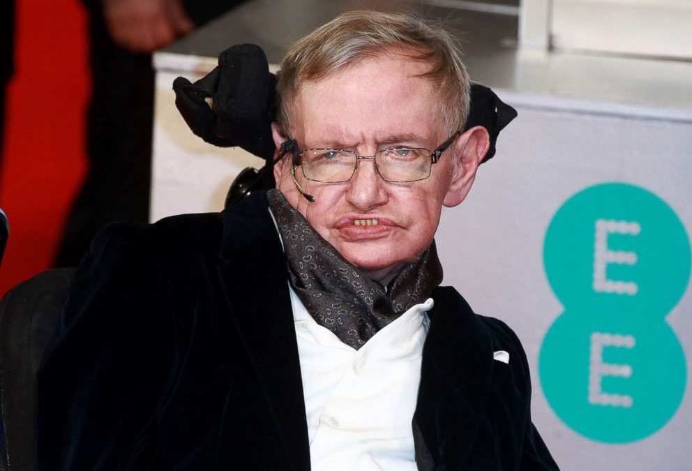 Stephen Hawking, Author of Brief Answers to the Big Questions Book
