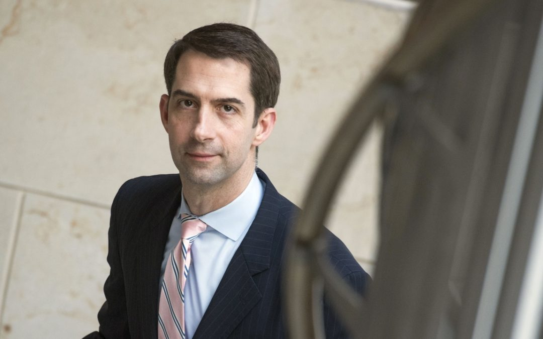 Tom Cotton, Author of Sacred Duty Book