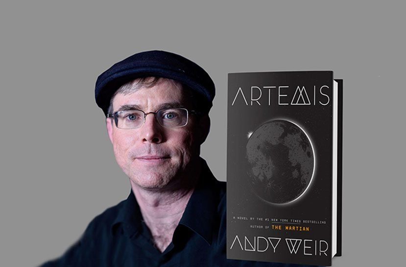 Interview With Andy Weir, author of The Martian & Artemis