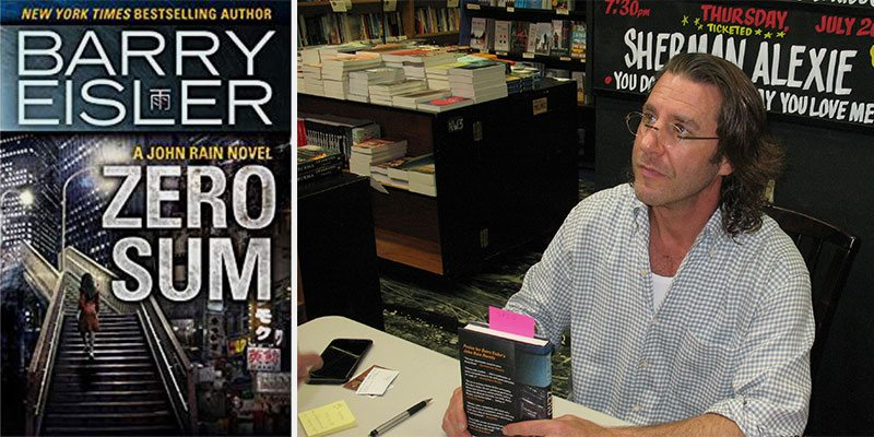 Through the Writer's Eyes: An Evening with Barry Eisler By Jennifer Dwight