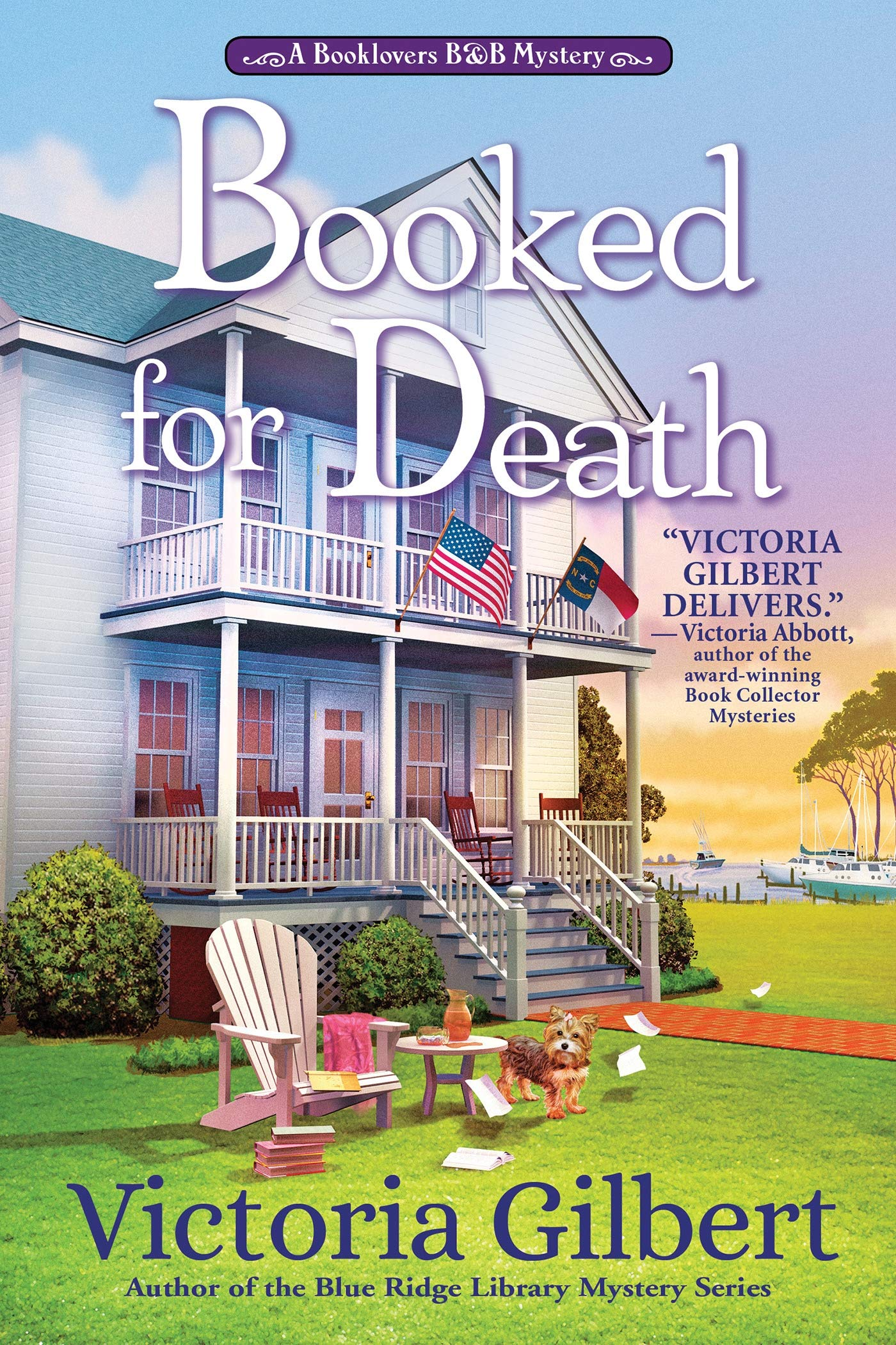 Booked for Death: A Booklovers B&B Mystery