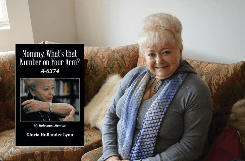 "Interview with Gloria Hollander Lyon, author of ""Mommy, What's That Number on Your Arm?"""