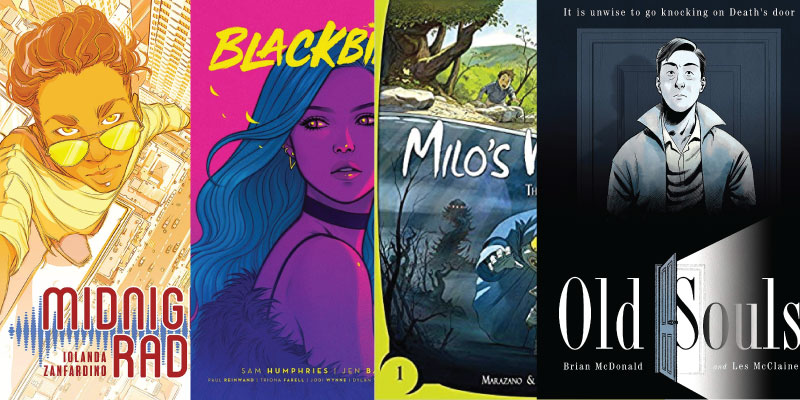 Hot Summer Graphic Novels Roundup