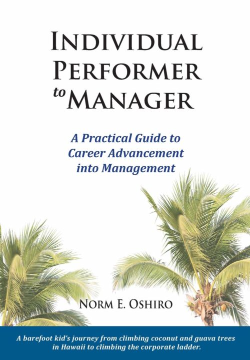 Individual Performer to Manager - A Practical Guide to Career Advancement into Management