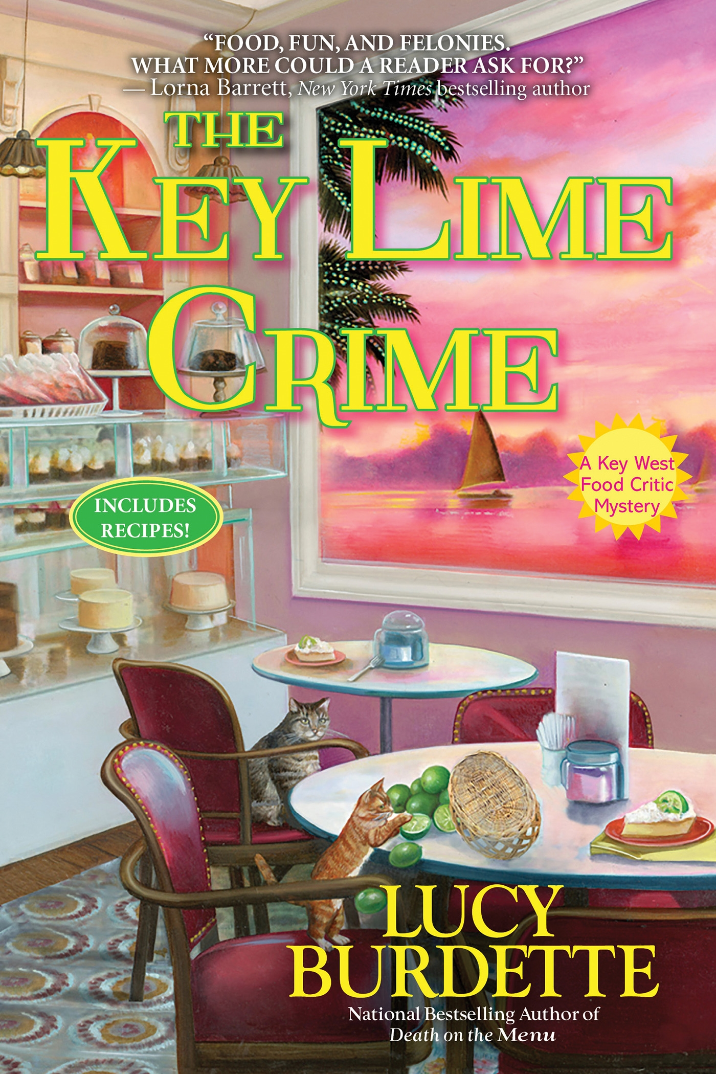 The Key Lime Crime: A Key West Food Critic Mystery