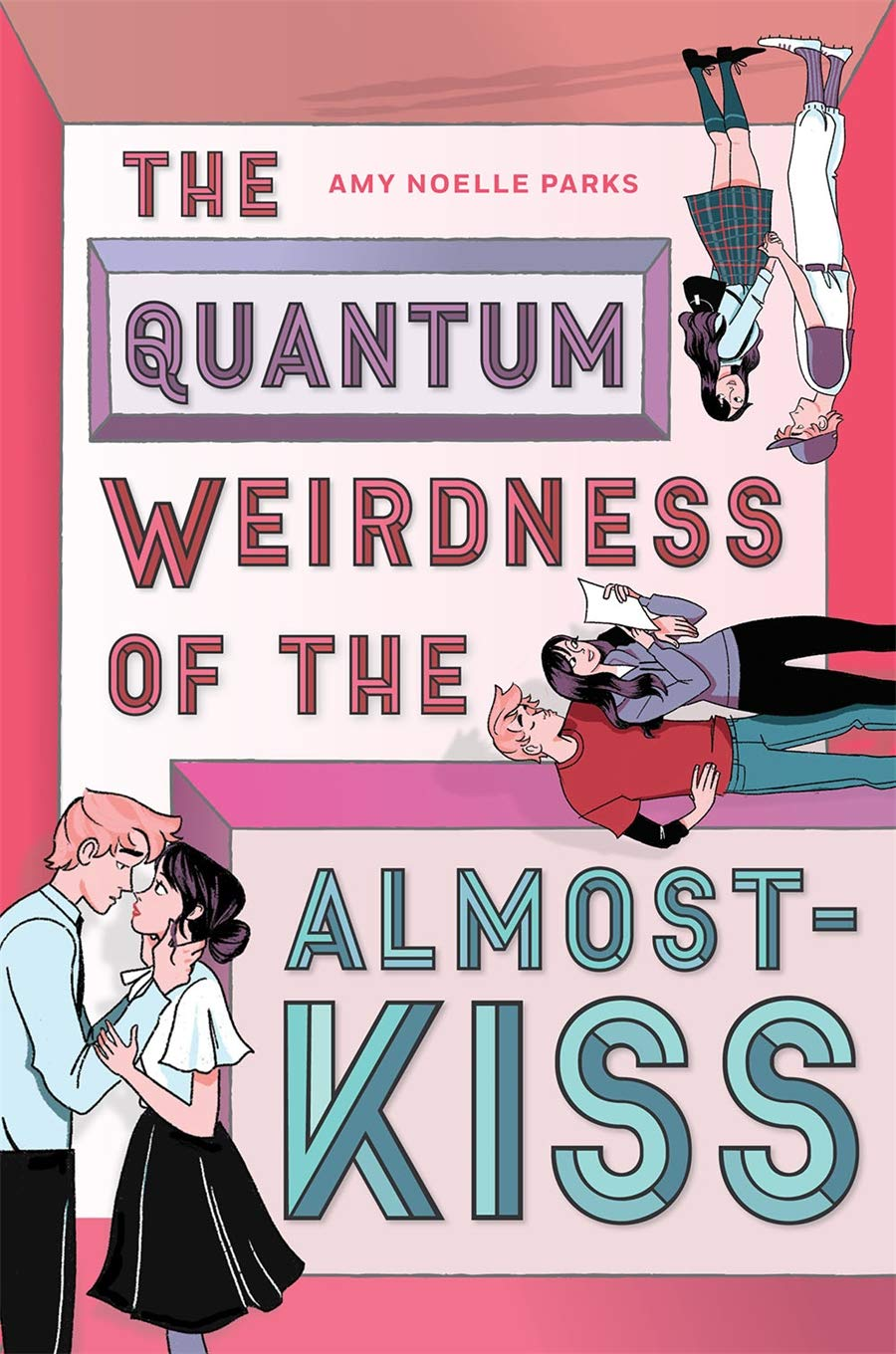 The Quantum Weirdness of the Almost-Kiss