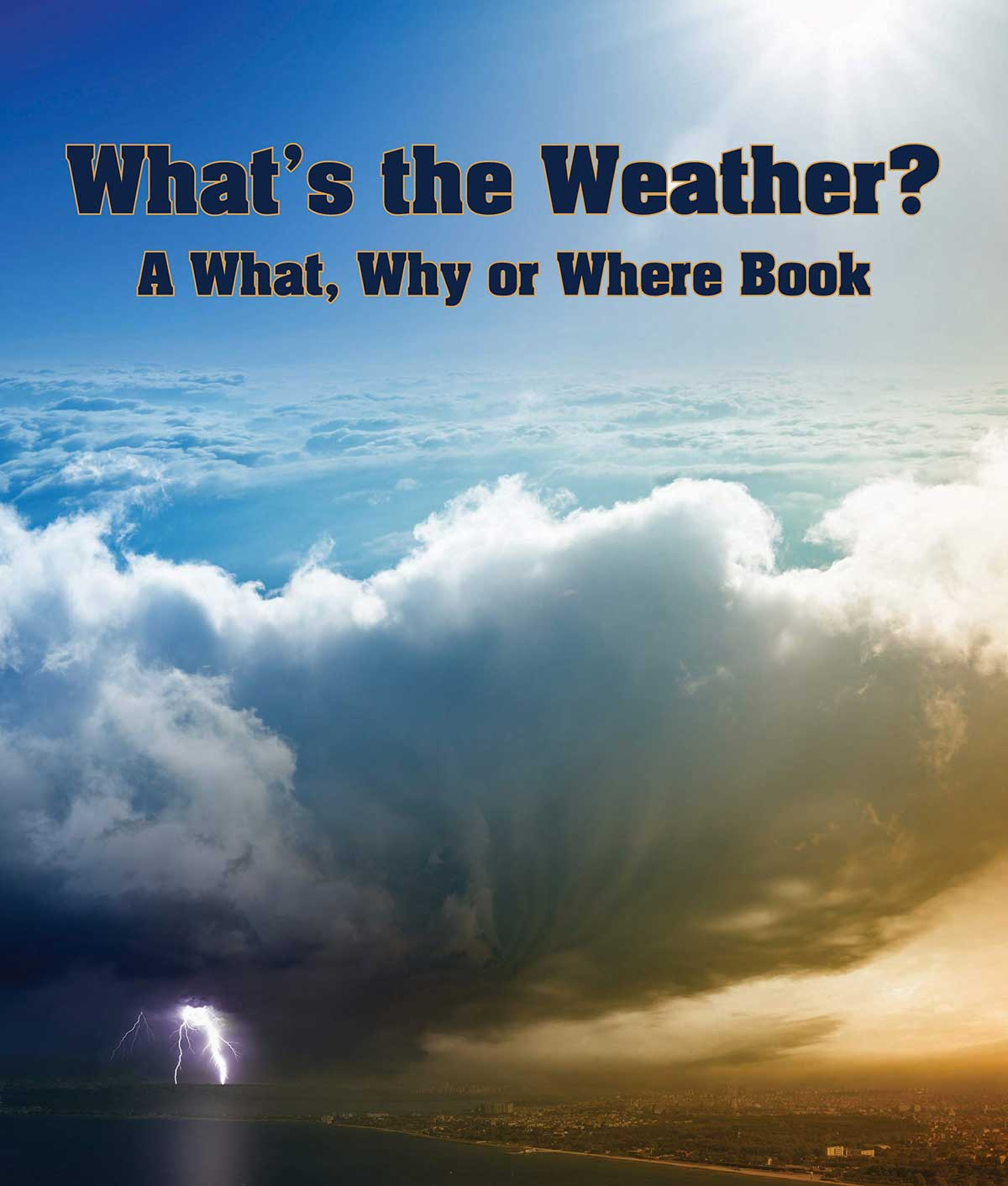 What's the Weather? a What, Why or Where Book